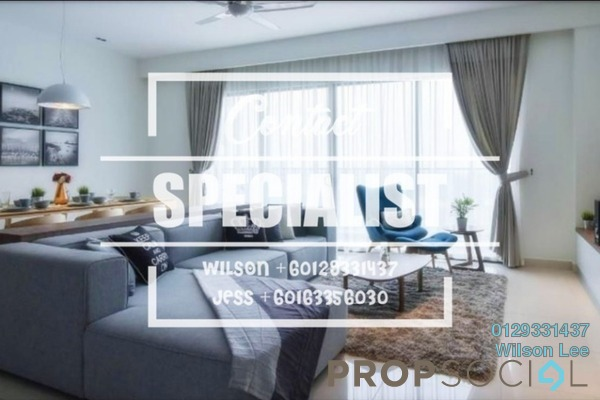 For Rent Condominium at The Westside One, Desa ParkCity Freehold Fully Furnished 2R/3B 3.3k