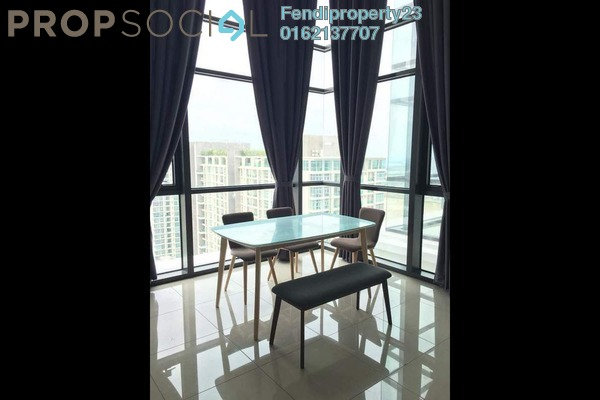 For Rent Condominium at Eclipse Residence @ Pan'gaea, Cyberjaya Freehold Fully Furnished 3R/2B 1.65k