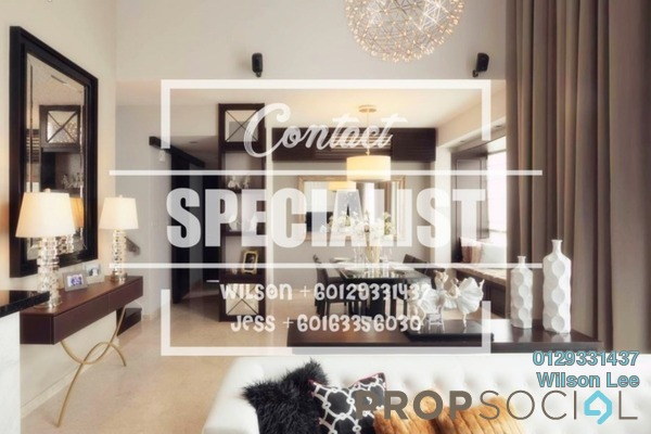 For Sale Condominium at The Northshore Gardens, Desa ParkCity Freehold Fully Furnished 1R/2B 800k