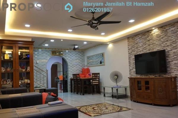 For Sale Terrace at Taman Meru Indah, Meru Freehold Semi Furnished 2R/2B 390k