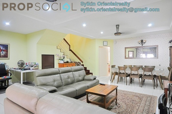 For Sale Terrace at Seri Utama, Kota Damansara Freehold Fully Furnished 4R/3B 980k
