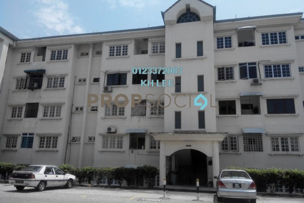 For Rent Apartment at Keranji Apartment, Subang Jaya Freehold Semi Furnished 3R/2B 1.2k