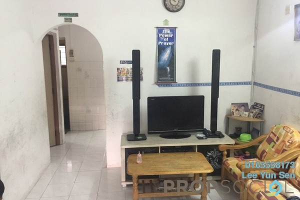 For Sale Terrace at Anjung Bercham Utara, Ipoh Freehold Semi Furnished 3R/1B 168k
