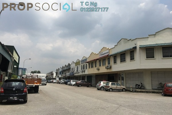 For Sale Factory at Taman Perindustrian Kinrara, Bandar Puchong Jaya Leasehold Unfurnished 0R/0B 1.3m