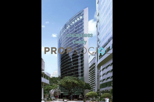 For Rent Office at Menara Perak, KLCC Freehold Semi Furnished 0R/0B 89.9k