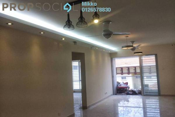 For Sale Condominium at Platinum Hill PV2, Setapak Freehold Semi Furnished 4R/2B 500k