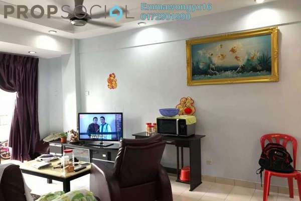 For Sale Condominium at Vista Mutiara, Kepong Freehold Fully Furnished 3R/2B 430k