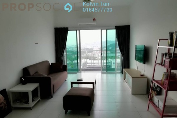 For Rent Apartment at 1-World, Bayan Baru Freehold Fully Furnished 3R/2B 1.5k