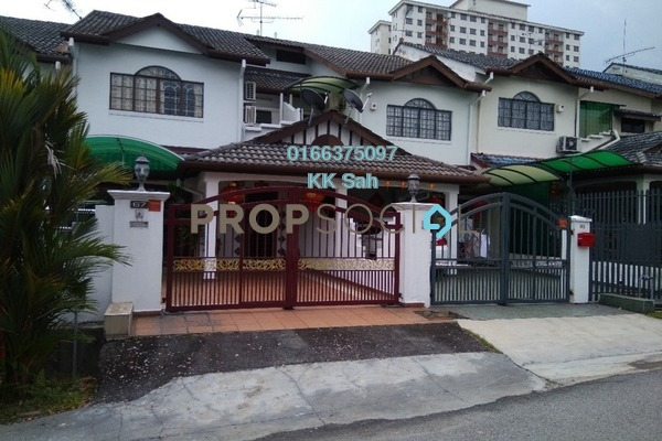 For Sale Link at Taman Sri Bahagia, Cheras South Freehold Semi Furnished 4R/2B 550k