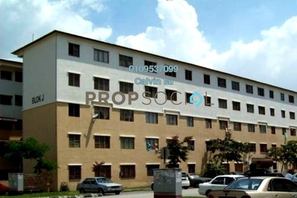 For Sale Apartment at Rebana Apartment, Bandar Bukit Raja Freehold Unfurnished 3R/2B 70k