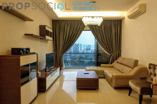 For Rent Condominium at The Horizon Residences, KLCC Freehold Fully Furnished 3R/3B 6.5k