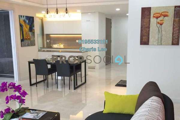 For Rent Serviced Residence at The Sentral Residences, KL Sentral Freehold Fully Furnished 2R/1B 5k