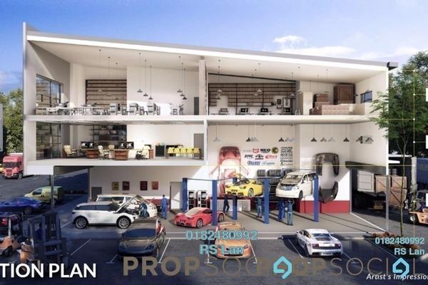 For Sale Factory at Kampung Baru Subang, Shah Alam Freehold Unfurnished 0R/6B 3m