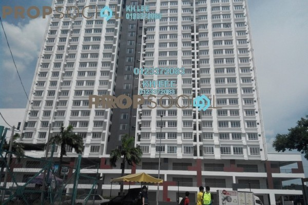 For Rent Apartment at Palm Garden Apartment, Klang Leasehold Unfurnished 3R/2B 1.2k