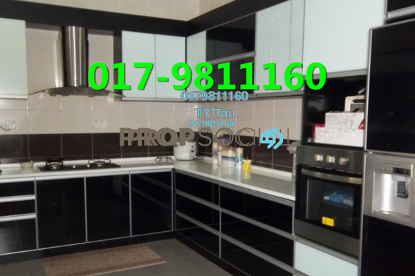 For Sale Terrace at Taman Murni, Cheras South Freehold Semi Furnished 2R/2B 445k