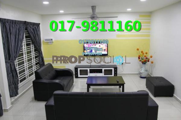 For Sale Terrace at Cheras Vista, Bandar Mahkota Cheras Freehold Semi Furnished 4R/3B 570k
