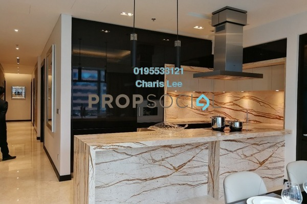 For Sale Serviced Residence at The Ritz-Carlton Residences, KLCC Freehold Semi Furnished 3R/3B 4.84m