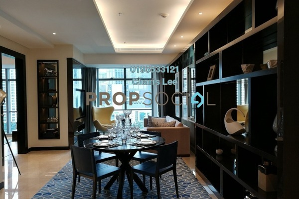 For Sale Serviced Residence at The Ritz-Carlton Residences, KLCC Freehold Semi Furnished 1R/1B 2.58m