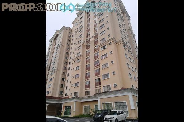 For Rent Condominium at TAR Villa, Setapak Freehold Semi Furnished 3R/2B 1.55k