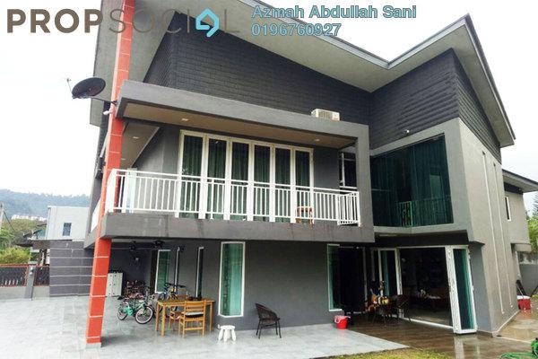 For Sale Terrace at Taman Melawati, Melawati Freehold Semi Furnished 5R/5B 1.99m
