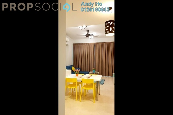 For Rent Condominium at Vogue Suites One @ KL Eco City, Mid Valley City Freehold Fully Furnished 2R/1B 2.4k