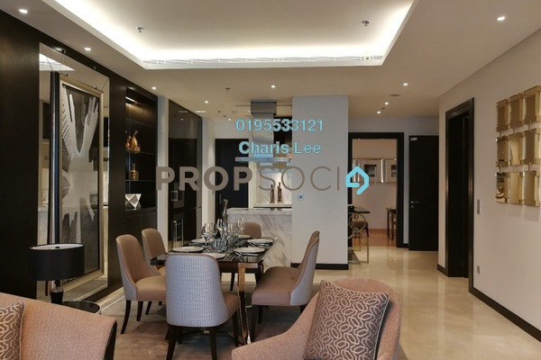 For Sale Serviced Residence at The Ritz-Carlton Residences, KLCC Freehold Semi Furnished 1R/1B 3.21m