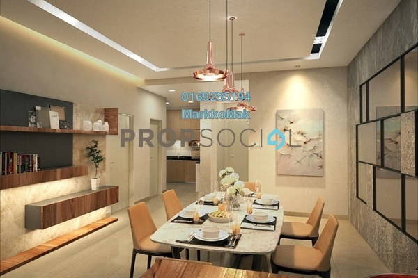 For Sale Condominium at LegendView Condominium, Rawang Freehold Semi Furnished 3R/2B 359k