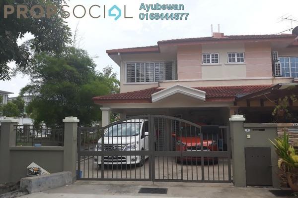 For Sale Terrace at Taman Cheras Idaman, Bandar Sungai Long Leasehold Semi Furnished 4R/3B 880k