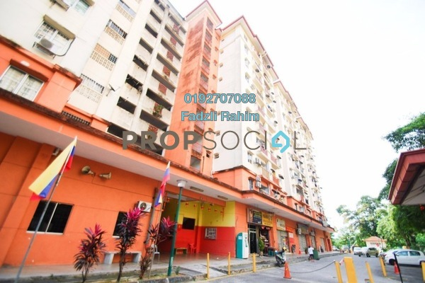 For Sale Apartment at Metro Prima, Kepong Leasehold Unfurnished 3R/2B 320k