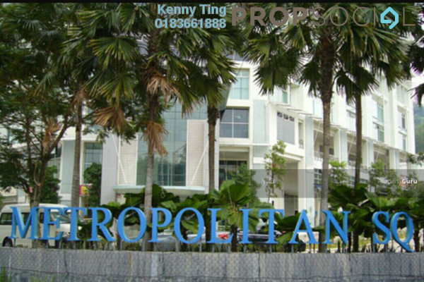 For Rent Condominium at Metropolitan Square, Damansara Perdana Freehold Fully Furnished 3R/2B 2.4k