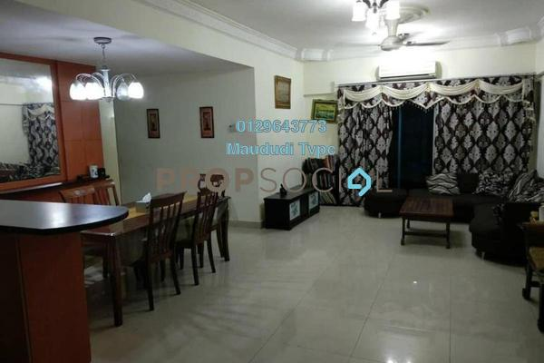 For Rent Condominium at Idaman Puteri, Setapak Freehold Semi Furnished 4R/3B 2.2k