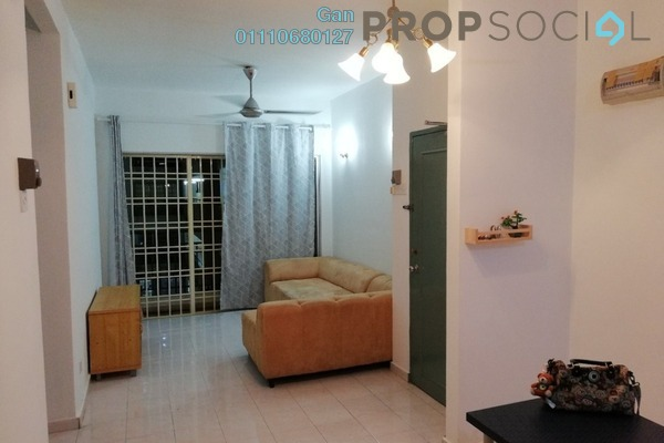 For Rent Apartment at Sutramas, Bandar Puchong Jaya Freehold Semi Furnished 3R/2B 1.15k