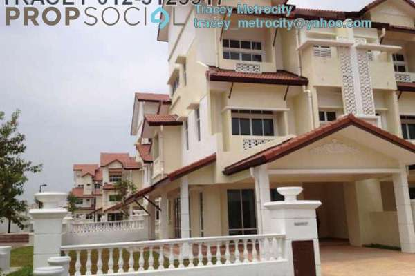 For Sale Terrace at Anjung Sari, Setia Alam Freehold Semi Furnished 5R/5B 1.38m