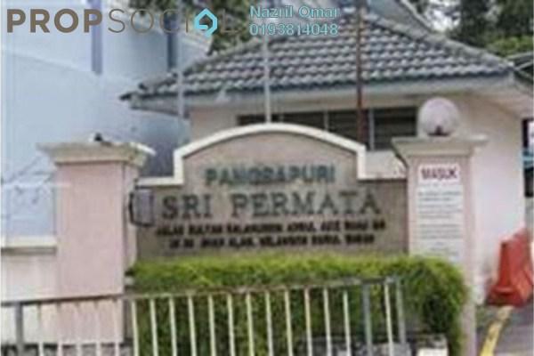 For Rent Apartment at Sri Permata, Shah Alam Freehold Semi Furnished 3R/2B 1.6k