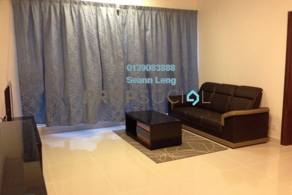 For Rent Condominium at Regalia, Putra Freehold Fully Furnished 1R/1B 2k
