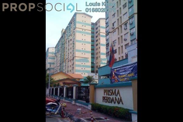 For Rent Condominium at Prisma Perdana, Cheras Freehold Unfurnished 3R/2B 1.2k