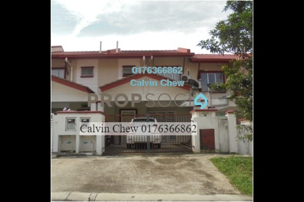 For Sale Terrace at Aman Putri, Sungai Buloh Freehold Unfurnished 4R/3B 405k