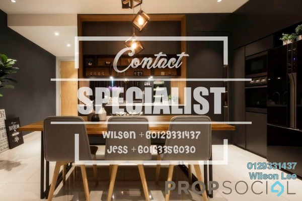 For Sale Condominium at Nadia, Desa ParkCity Freehold Fully Furnished 2R/2B 890k