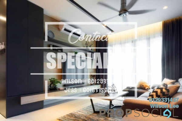 For Rent Condominium at Nadia, Desa ParkCity Freehold Fully Furnished 1R/1B 1.8k