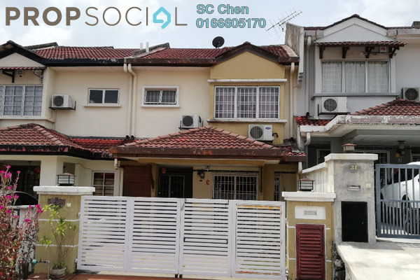 For Rent Terrace at Taman Puncak Jalil, Bandar Putra Permai Leasehold Semi Furnished 4R/3B 1.5k