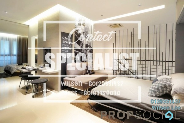 For Rent Condominium at One Central Park, Desa ParkCity Freehold Fully Furnished 2R/2B 3k