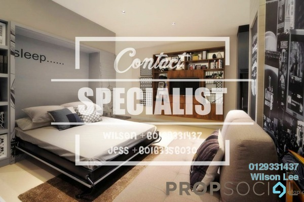 For Rent Condominium at One Central Park, Desa ParkCity Freehold Fully Furnished 2R/3B 3.5k
