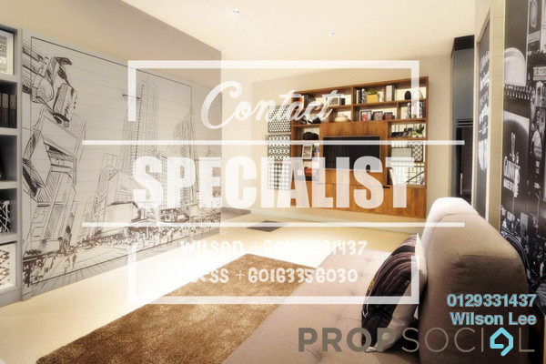 For Rent Condominium at One Central Park, Desa ParkCity Freehold Fully Furnished 3R/2B 3.5k