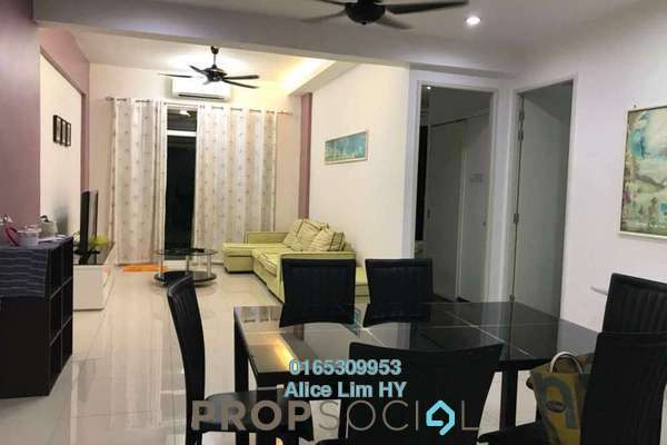 For Rent Condominium at The Oasis, Gelugor Freehold Fully Furnished 3R/2B 1.8k