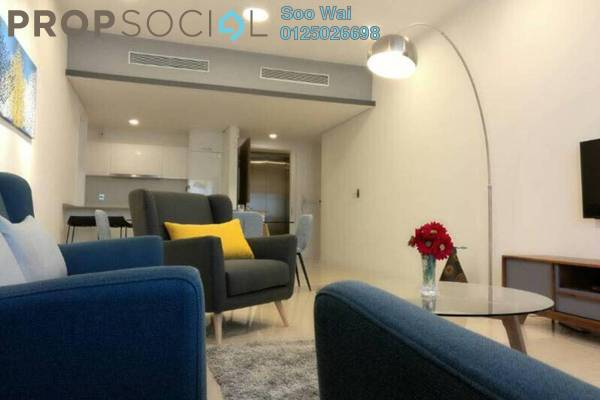For Rent Condominium at The Sentral Residences, KL Sentral Freehold Fully Furnished 2R/2B 5k