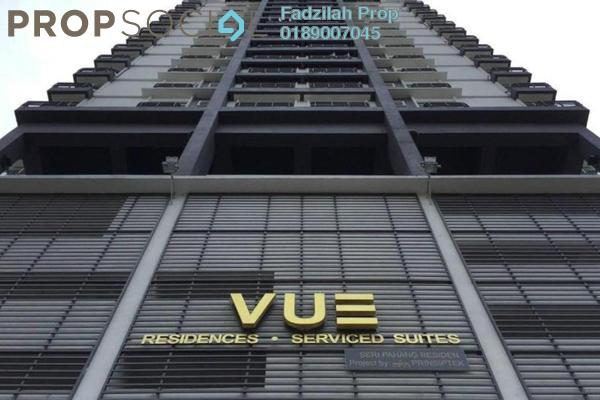 For Rent Condominium at Vue Residences, Titiwangsa Freehold Fully Furnished 2R/1B 2.3k