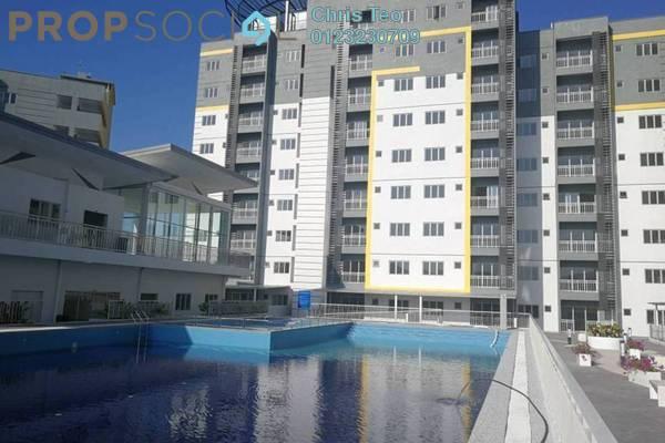 For Sale Condominium at Permata Residence, Bandar Sungai Long Freehold Semi Furnished 3R/2B 520k
