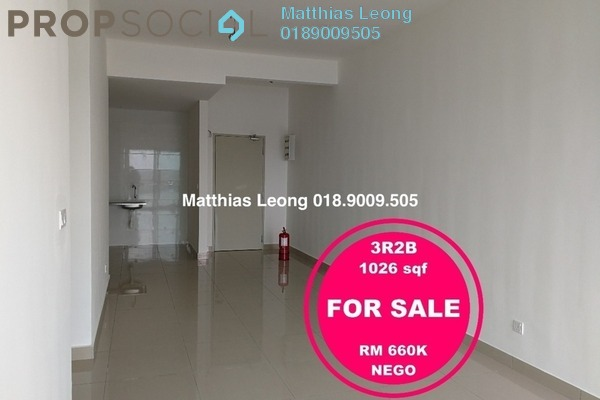 For Sale Condominium at Skyvilla @ D'Island, Puchong Freehold Unfurnished 3R/2B 660k