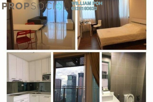 For Rent Condominium at Summer Suites, KLCC Freehold Fully Furnished 1R/1B 2.5k