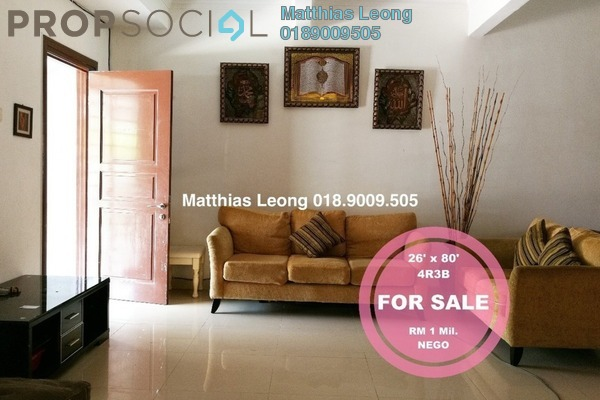 For Sale Superlink at Laman Putra, Putra Heights Freehold Semi Furnished 4R/3B 1m